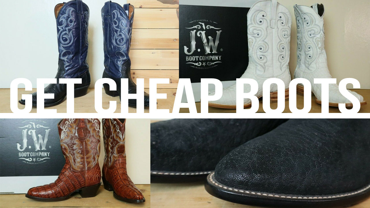 Buy Cheap Cowboy Boots