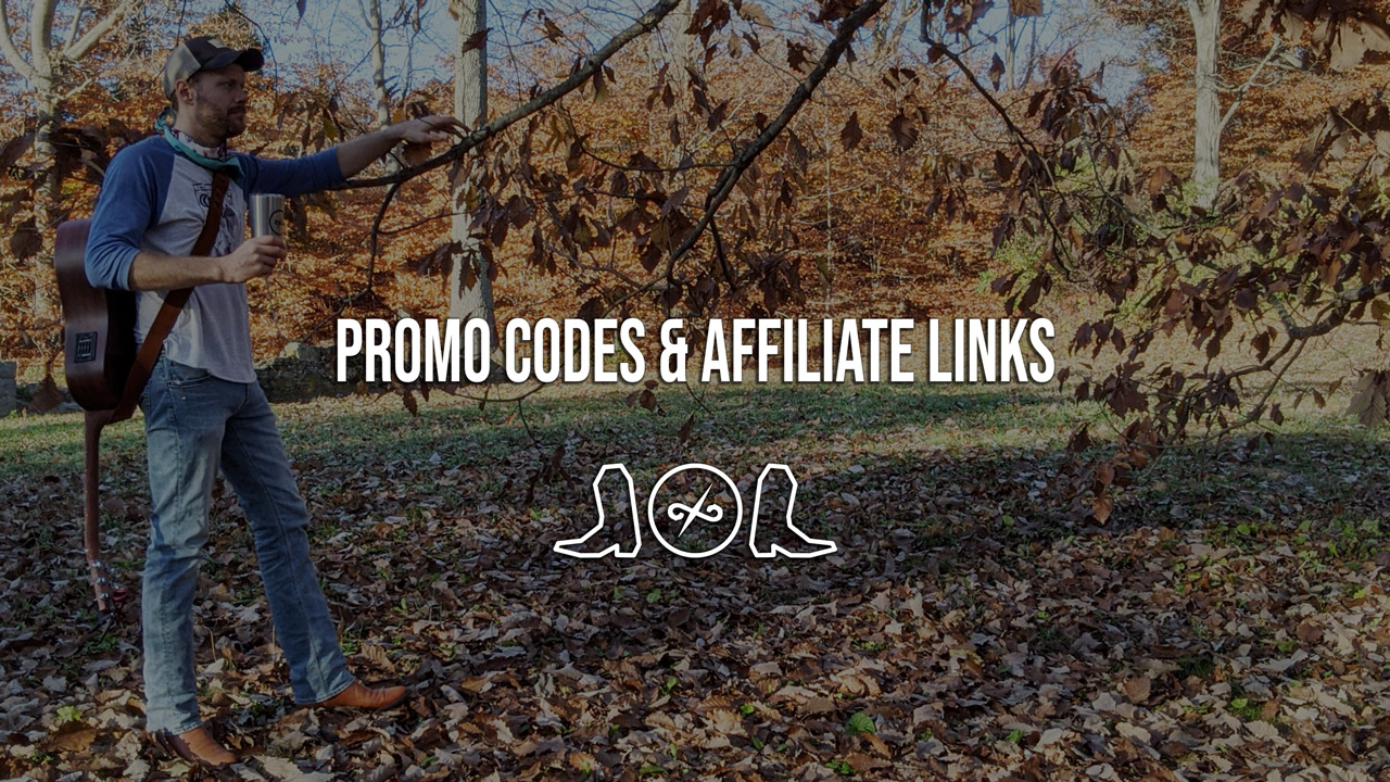 Promo Codes and Affiliate Links